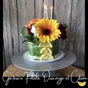 Fleuriste-Foliole-Gateau-de-fleurs-Orange-et-citron-15-cm
