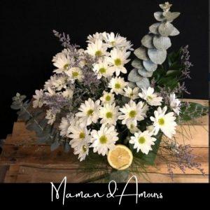 Fleuriste foliole bouquet fleurs maman d_amours