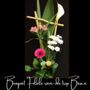 Fleuriste foliole bouquet fleurs rien de trop beau