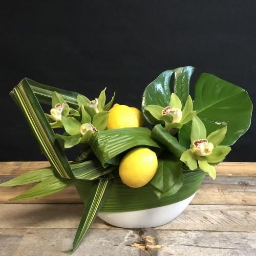 Fleurs et citrons (1)