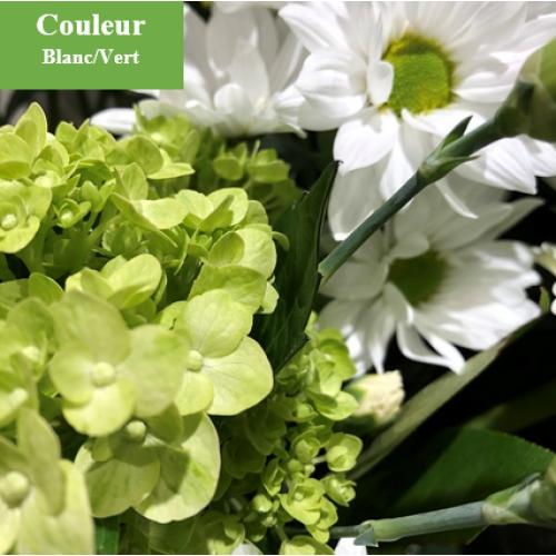 Foliole blanc.vert