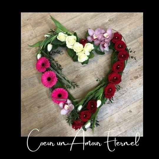 cœur funeraire amour eternel 3