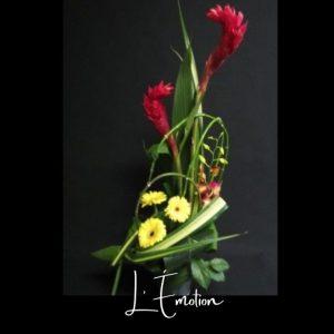 Corbeille funeraire Fleuriste foliole bouquet fleurs funeraire corbeille l_emotion