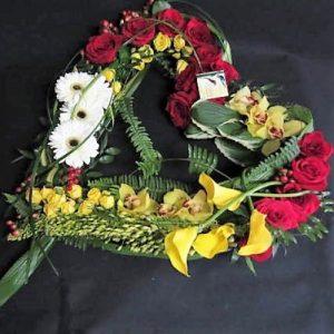 cœur funeraire amour eternel