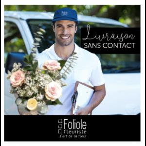 Livraison de Fleur Sans Contact Rive-nord de Montréal