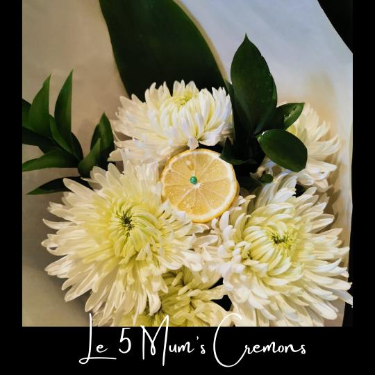 ouquet vague de reconfort fleuriste foliole le 5 cremons