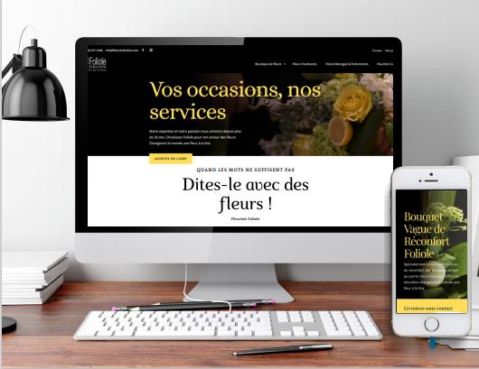 Commande en ligne FleuristeFoliole.com
