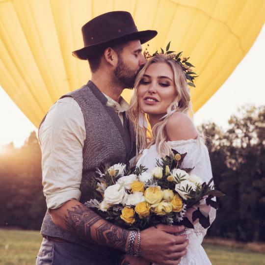 Le mariage Foliole est avec vous