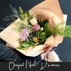 Bouquet Noel d'amours fleuristefoliole.com
