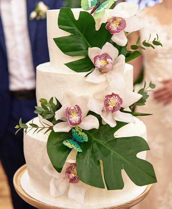 Fleur pour Gâteau de Mariage