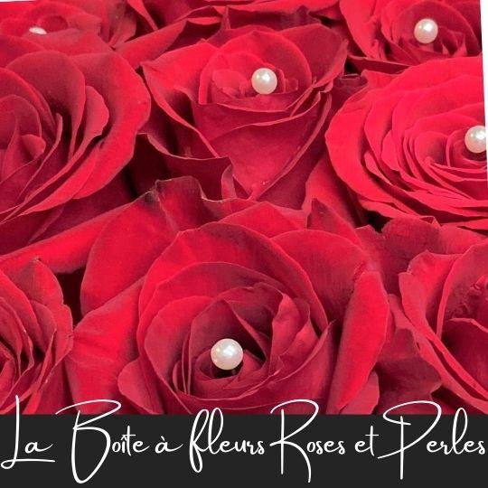 Roses et perles fleuristefoliole.com