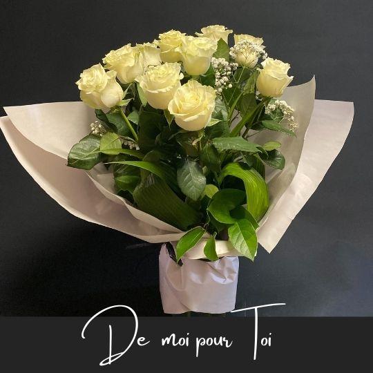 rose De moi pour toi fleuristefoliole.com