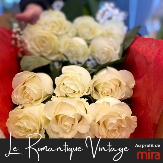 au profit de la fondation Mira fleuristefoliole.com