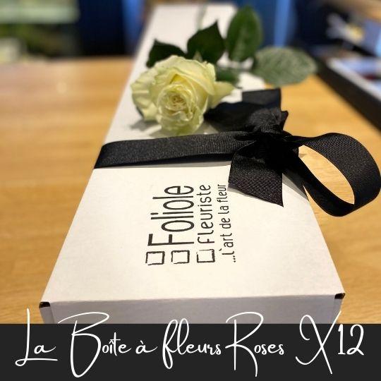 rose en boite fleuristefoliole.com