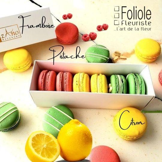zano macarons fleuristefoliole.com