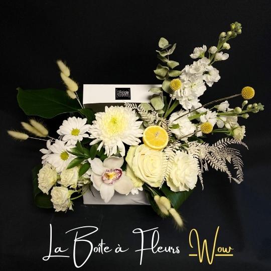 la boite a fleurs Wow fleuristefoliole.com