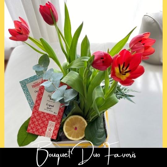 Le Bouquet Duo Favoris fleuristefoliole.com