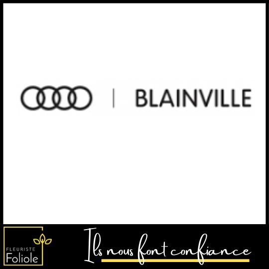 Audi Blainville ils nous font confiance fleuristefoliole.com corporatif