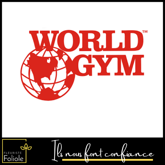 World Gym ils nous font confiance fleuristefoliole.com corporatif