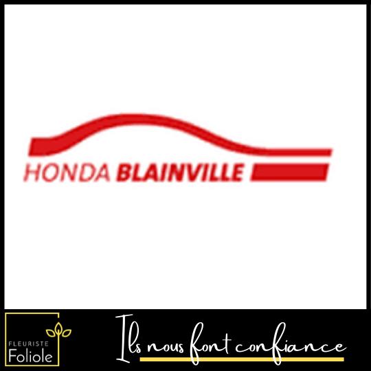 Honda Blainville ils nous font confiance fleuristefoliole.com corporatif