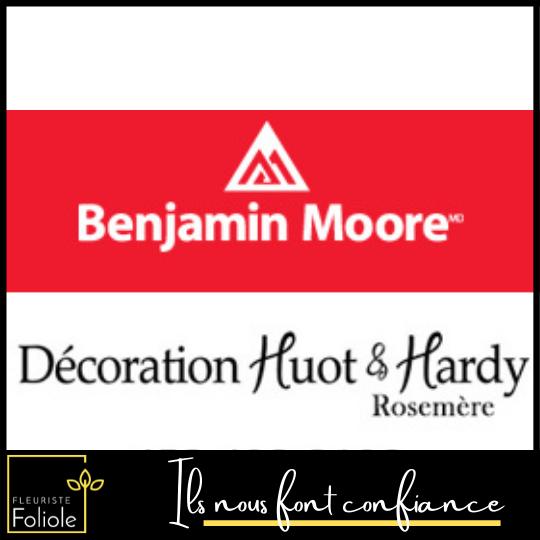 Benjamin Moore ils nous font confiance fleuristefoliole.com corporatif